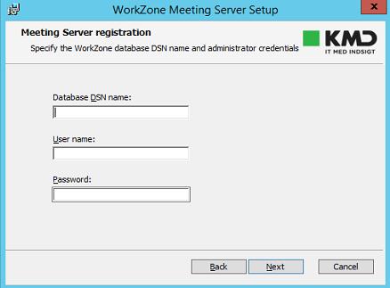 WorkZone Office Server Installation